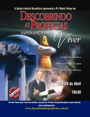 Descobrindo as Profecias com Mark Finley   SÉTIMO DIA 01827fe4c0