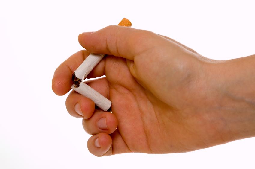 Deixe de fumar o quadro