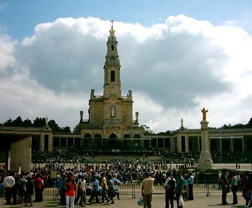 Santuário Nossa Senhora de Fátima em Portugal
