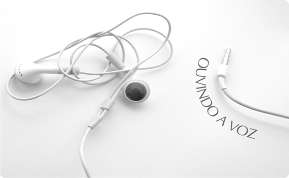 ouvindo a voz