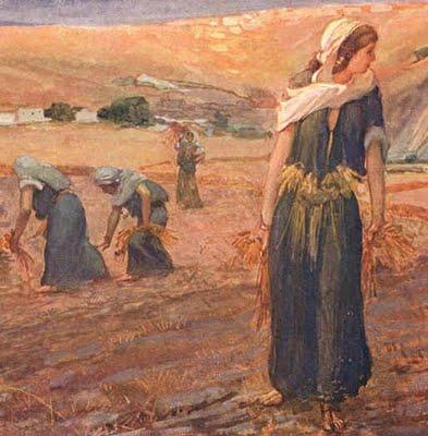 Desenho Biblico A Historia De Rute Setimo Dia