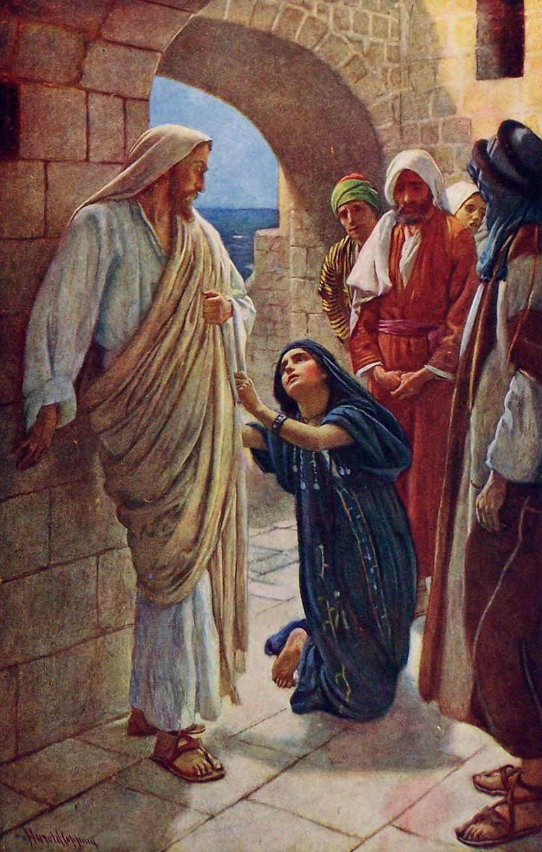 Resultado de imagen para la mujer cananea