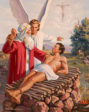 Resultado de imagem para Abraão sacrifica Isaac